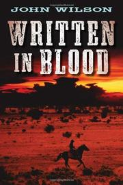 Cover art for WRITTEN IN BLOOD