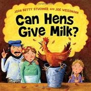 Cover art for CAN HENS GIVE MILK?