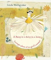 Book Cover for A DAISY IS A DAISY