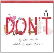 DON'T by Litsa Trochatos