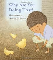 WHY ARE YOU DOING THAT? by Elisa Amado