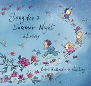 SONG FOR A SUMMER NIGHT by Robert Heidbreder