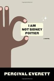 Book Cover for I AM NOT SIDNEY POITIER