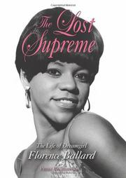 Cover art for THE LOST SUPREME