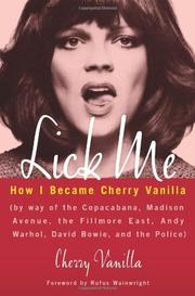 LICK ME by Cherry Vanilla