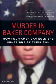MURDER IN BAKER COMPANY by Cilla McCain