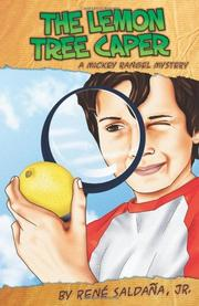 Book Cover for THE LEMON TREE CAPER / <i>LA INTRIGA DEL LIMONERO</i>