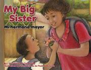 Book Cover for MY BIG SISTER / MI HERMANA MAYOR