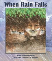 Cover art for WHEN RAIN FALLS