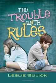 Cover art for THE TROUBLE WITH RULES