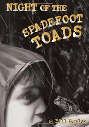 Cover art for NIGHT OF THE SPADEFOOT TOADS