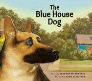 Cover art for THE BLUE HOUSE DOG