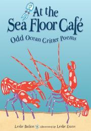 AT THE SEA FLOOR CAFÉ by Leslie Bulion