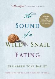 Book Cover for THE SOUND OF A WILD SNAIL EATING