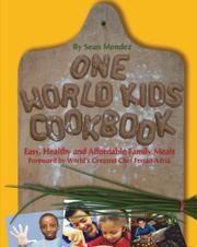 Cover art for ONE WORLD KIDS COOKBOOK