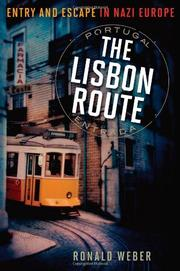 Book Cover for THE LISBON ROUTE