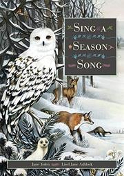SING A SEASON SONG by Jane Yolen