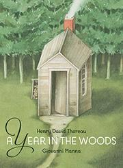 A YEAR IN THE WOODS by Henry David Thoreau