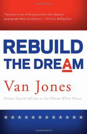 REBUILD THE DREAM by Van Jones
