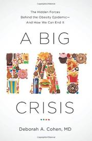 A BIG FAT CRISIS by Deborah A. Cohen