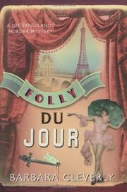 Book Cover for FOLLY DU JOUR