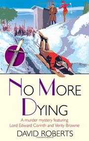 Book Cover for NO MORE DYING