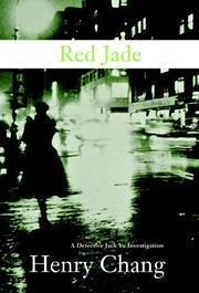 Cover art for RED JADE