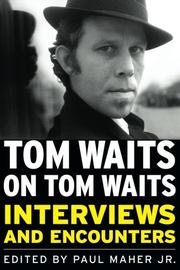 Cover art for TOM WAITS ON TOM WAITS
