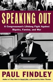 SPEAKING OUT by Paul Findley