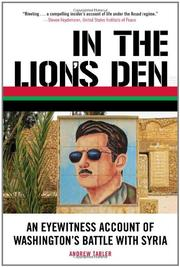 Cover art for IN THE LION'S DEN