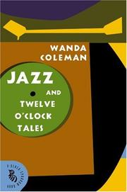 JAZZ & TWELVE O'CLOCK TALES by Wanda Coleman