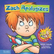 ZACH APOLOGIZES by William  Mulcahy