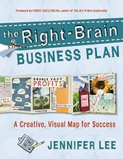 Cover art for THE RIGHT-BRAIN BUSINESS PLAN