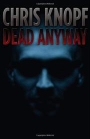 Book Cover for DEAD ANYWAY