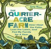 Cover art for QUARTER-ACRE FARM