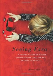 Book Cover for SEEING EZRA