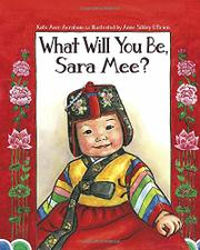 WHAT WILL YOU BE, SARAH MEE? by Kate Aver Avraham