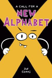 Cover art for A CALL FOR A NEW ALPHABET