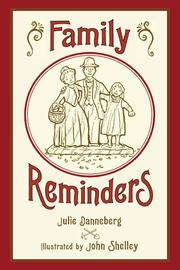 Cover art for FAMILY REMINDERS