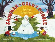 SNOWMAN - COLD = PUDDLE by Laura Purdie Salas