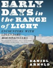 Cover art for EARLY DAYS IN THE RANGE OF LIGHT