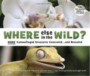 Book Cover for WHERE ELSE IN THE WILD?