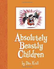 Book Cover for ABSOLUTELY BEASTLY CHILDREN
