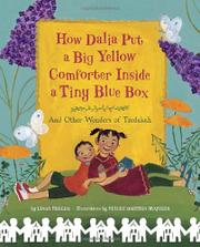 Book Cover for HOW DALIA PUT A BIG YELLOW COMFORTER INSIDE A TINY BLUE BOX