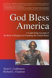 GOD BLESS AMERICA by Dean C. and Richard L. Chapman Coddington