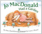 JO MACDONALD HAD A GARDEN by Mary Quattlebaum