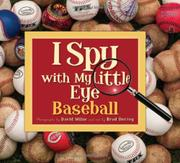 Cover art for I SPY WITH MY LITTLE EYE BASEBALL