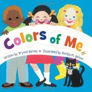 Book Cover for COLORS OF ME