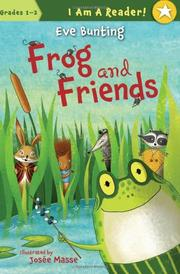 Book Cover for FROG AND FRIENDS