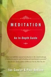 MEDITATION by Ian Gawler